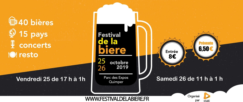 Affiche Festivaldelabiere Quimper Date
